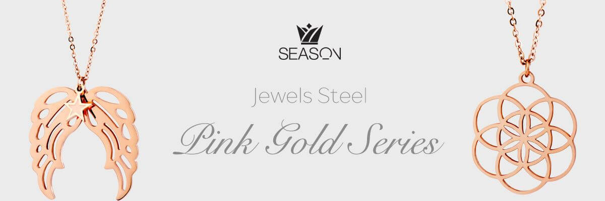 Pink Gold Steel
