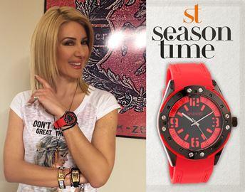 Ρολόι Season Time 6-1-31 Κόκκινο Rome Series