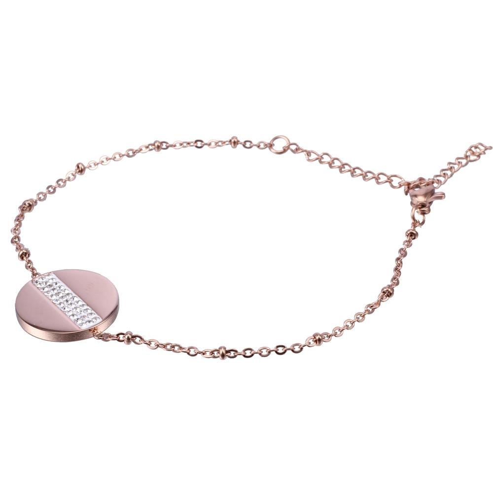 Βραχιόλι Season Jewels 1524-2 Ροζ Χρυσό