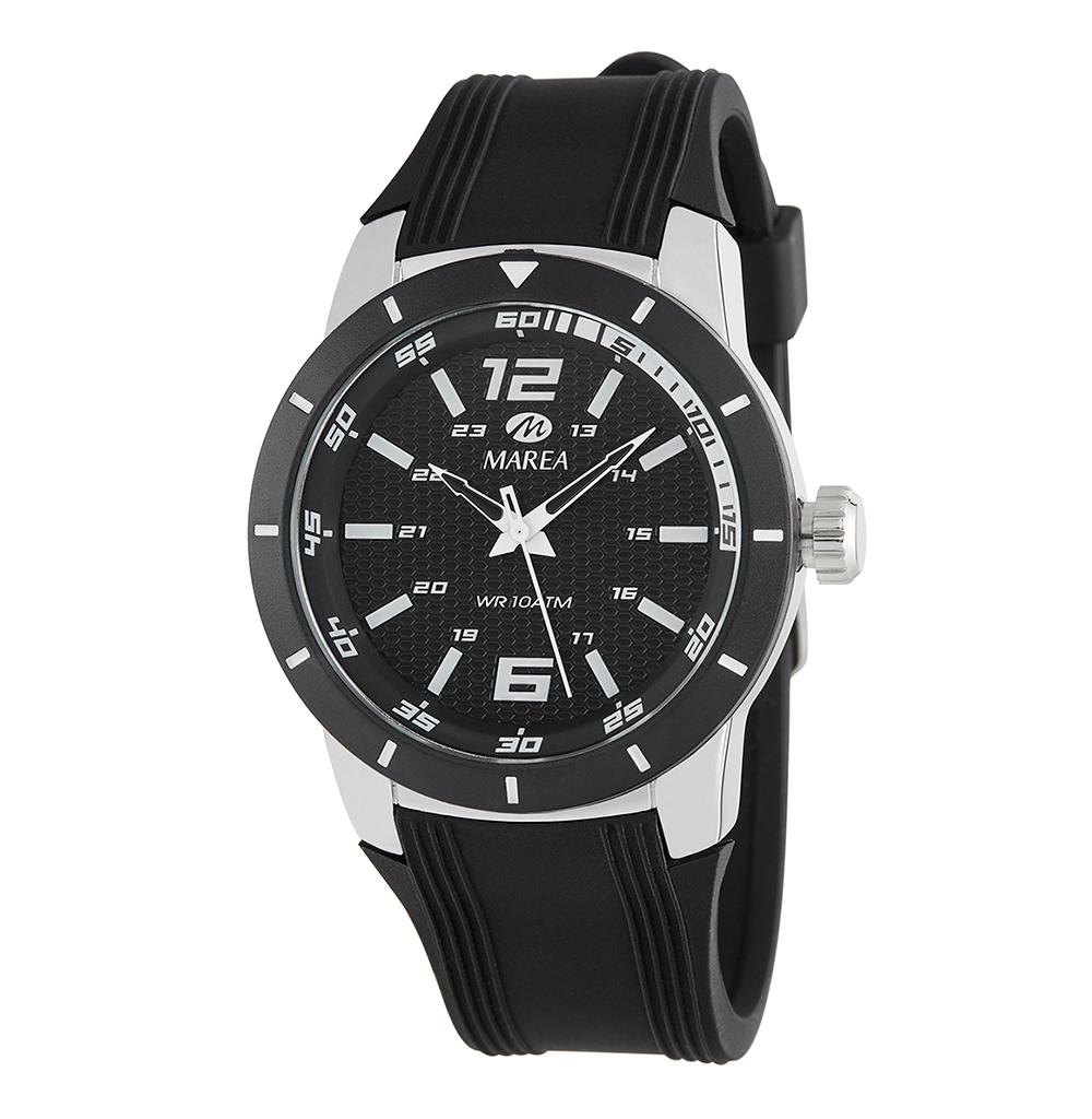 Ρολόι Ανδρικό Marea B35292-1 Μαύρο
