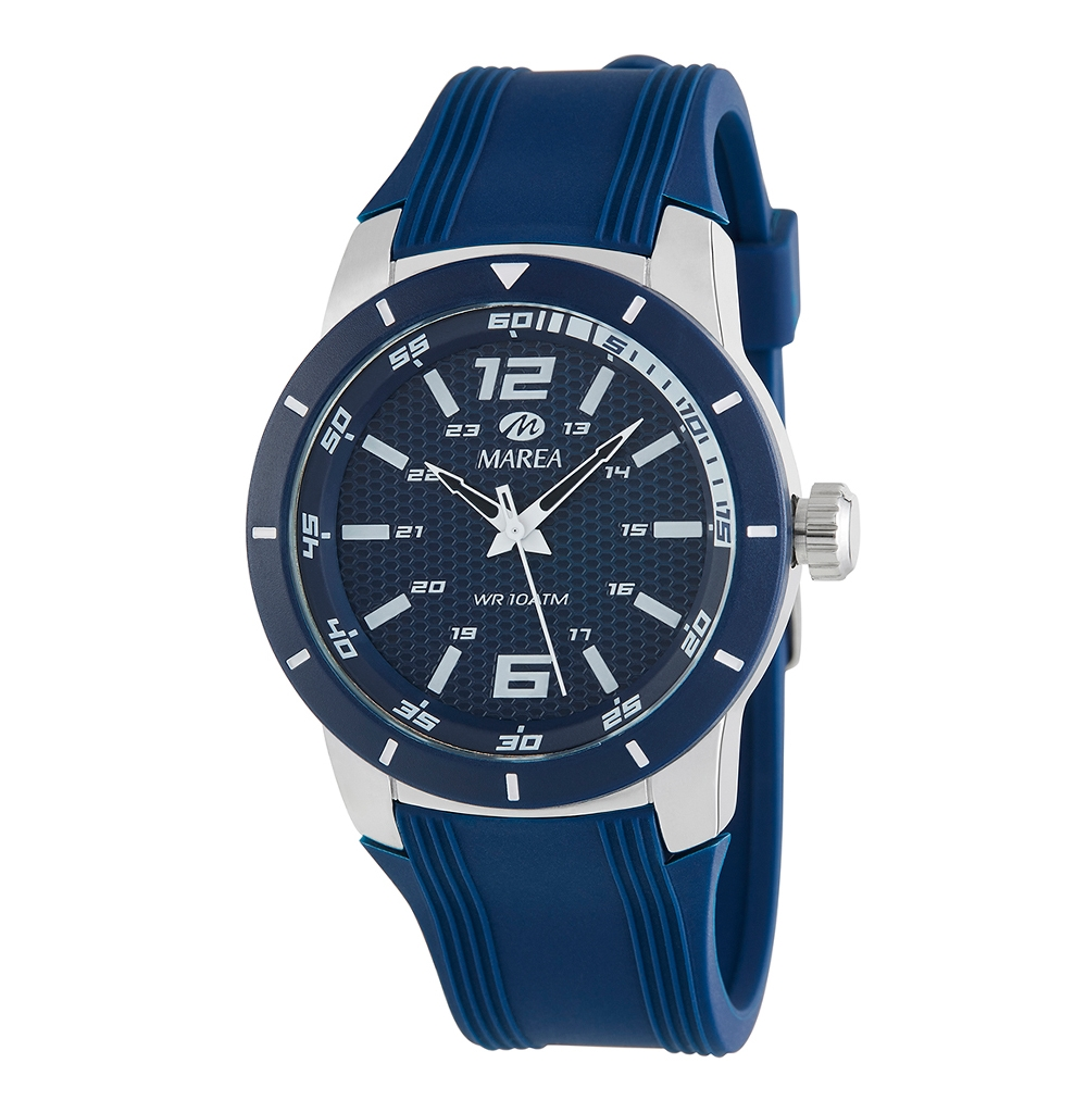 Ρολόι Ανδρικό Marea B35292-4 Μπλε