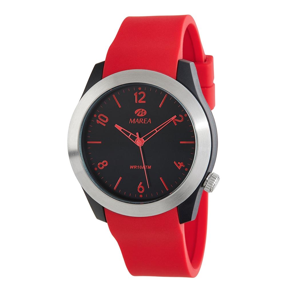 Ρολόι Ανδρικό Marea B35293-3 Κόκκινο