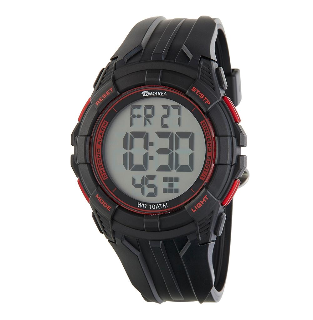 Ρολόι Ανδρικό Marea B40198-1 Μαύρο