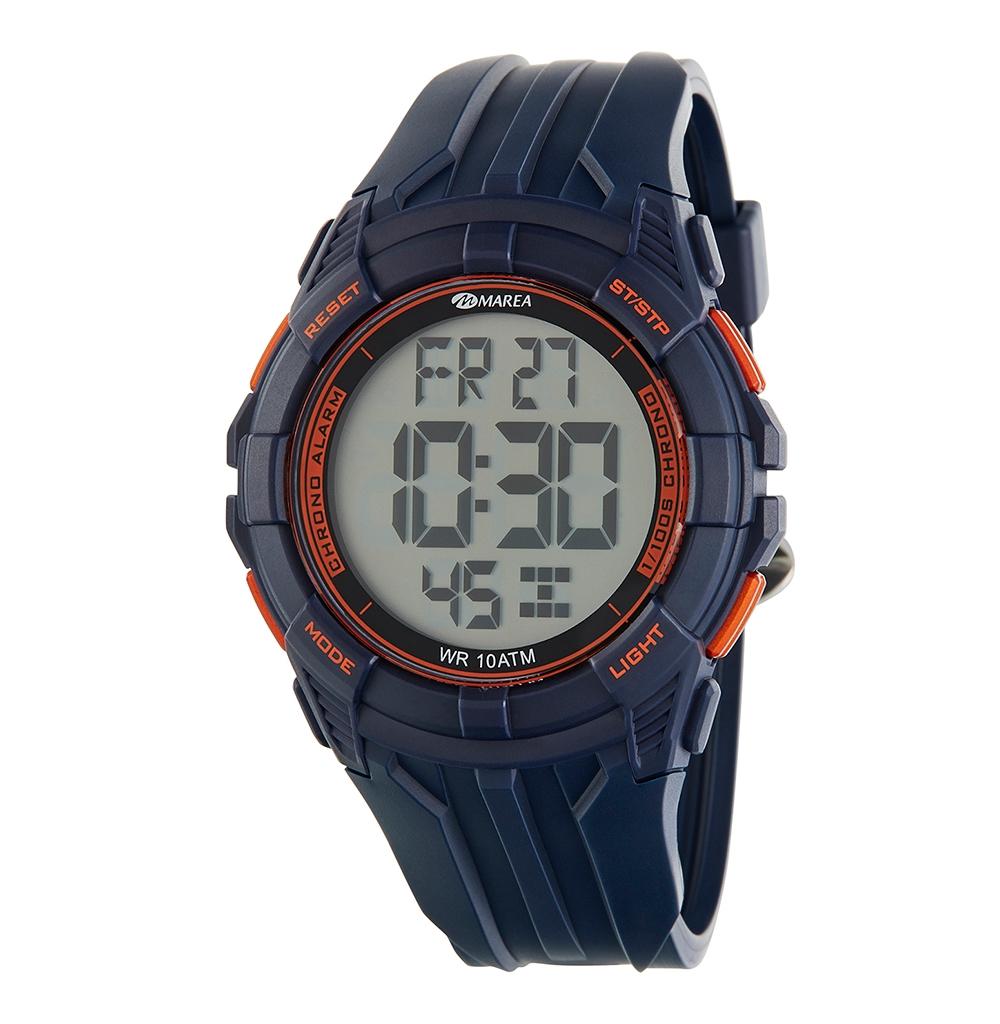 Ρολόι Ανδρικό Marea B40198-4 Μαύρο