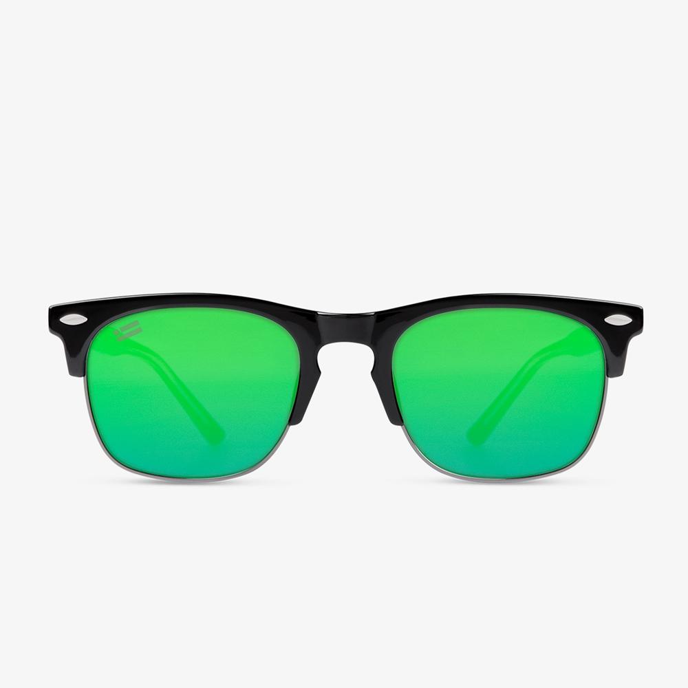 America SQ Shiny Black - Green DFKSUN0555