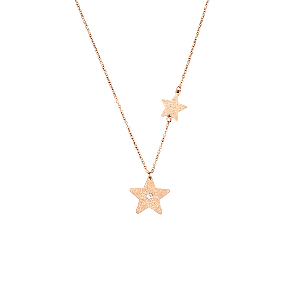Κολιέ Season Jewels 1615-2 Ροζ Χρυσό