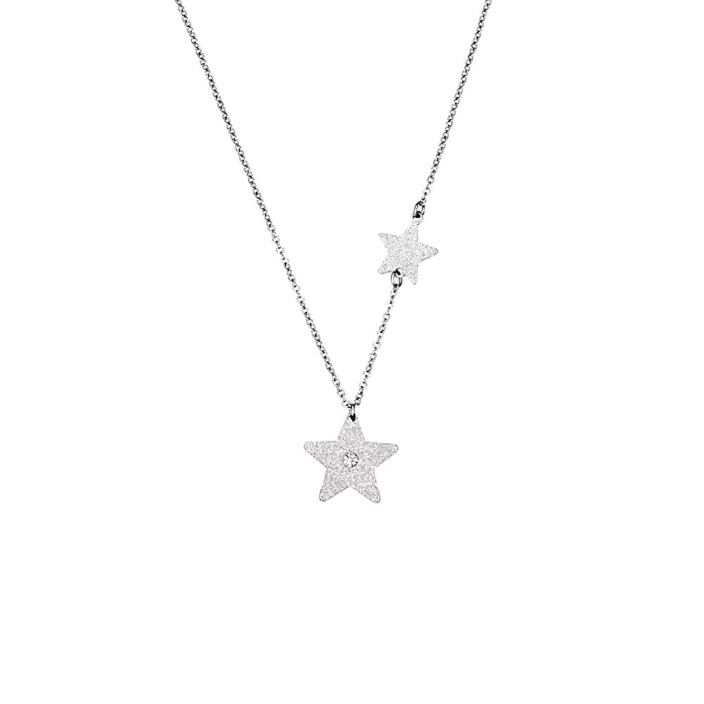 Κολιέ Season Jewels 1615-3 Ασημί