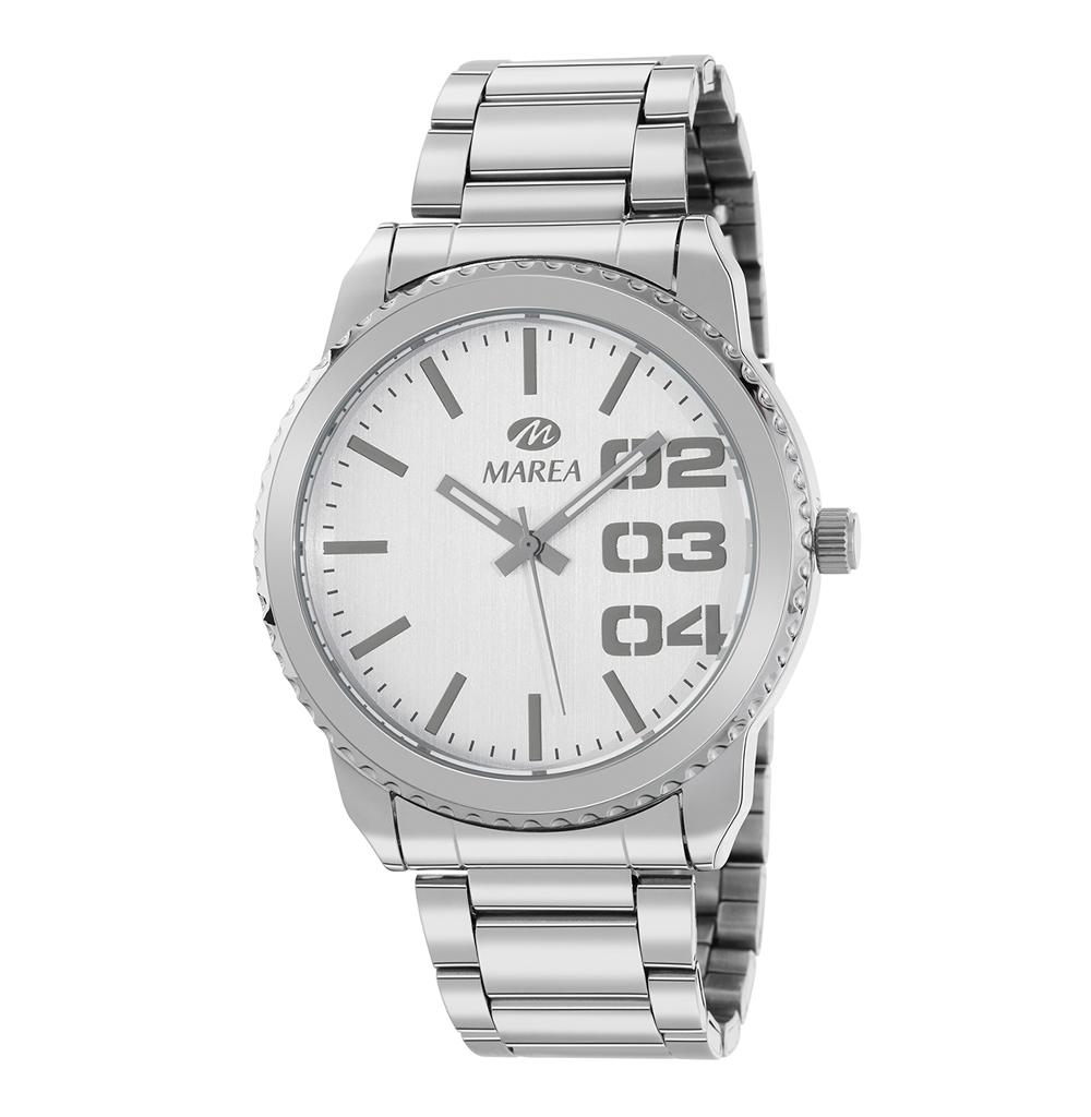 Ρολόι Ανδρικό Marea B41267-1 Ασημί