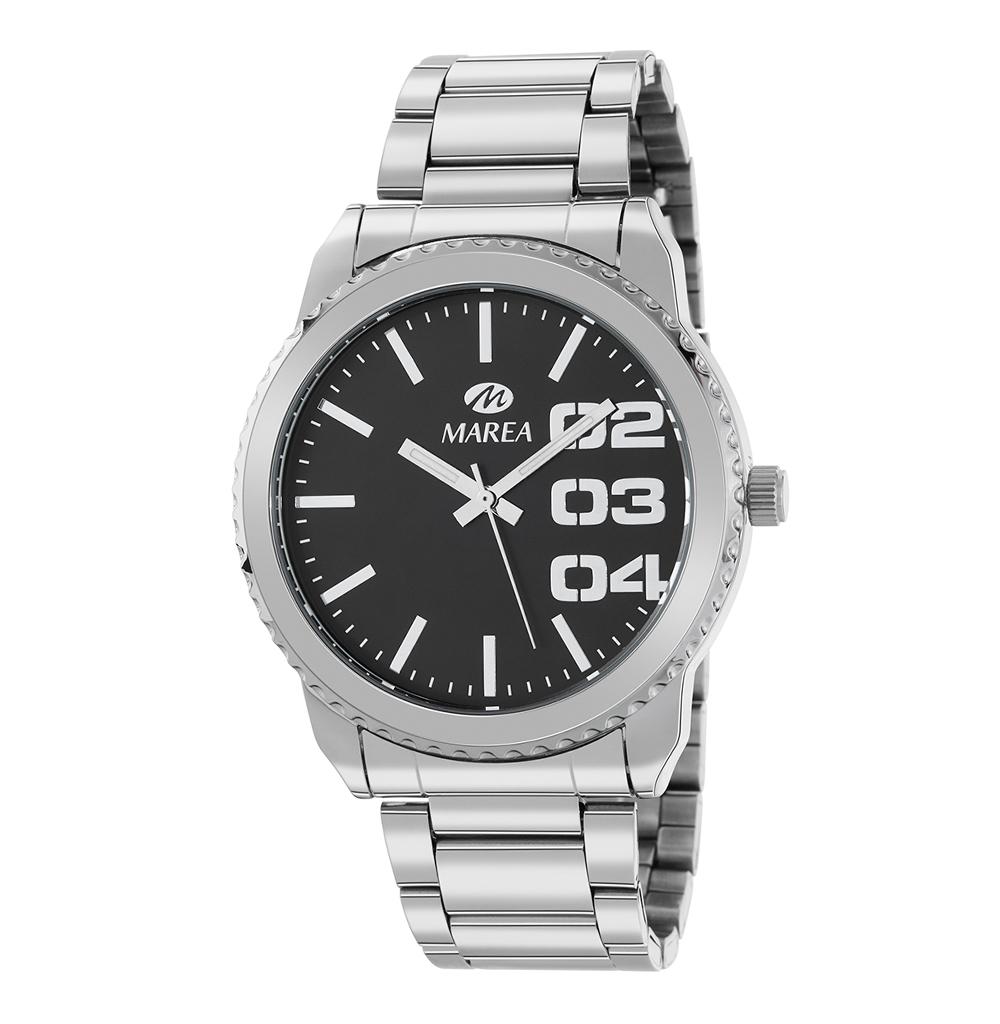 Ρολόι Ανδρικό Marea B41267-2 Μαύρο