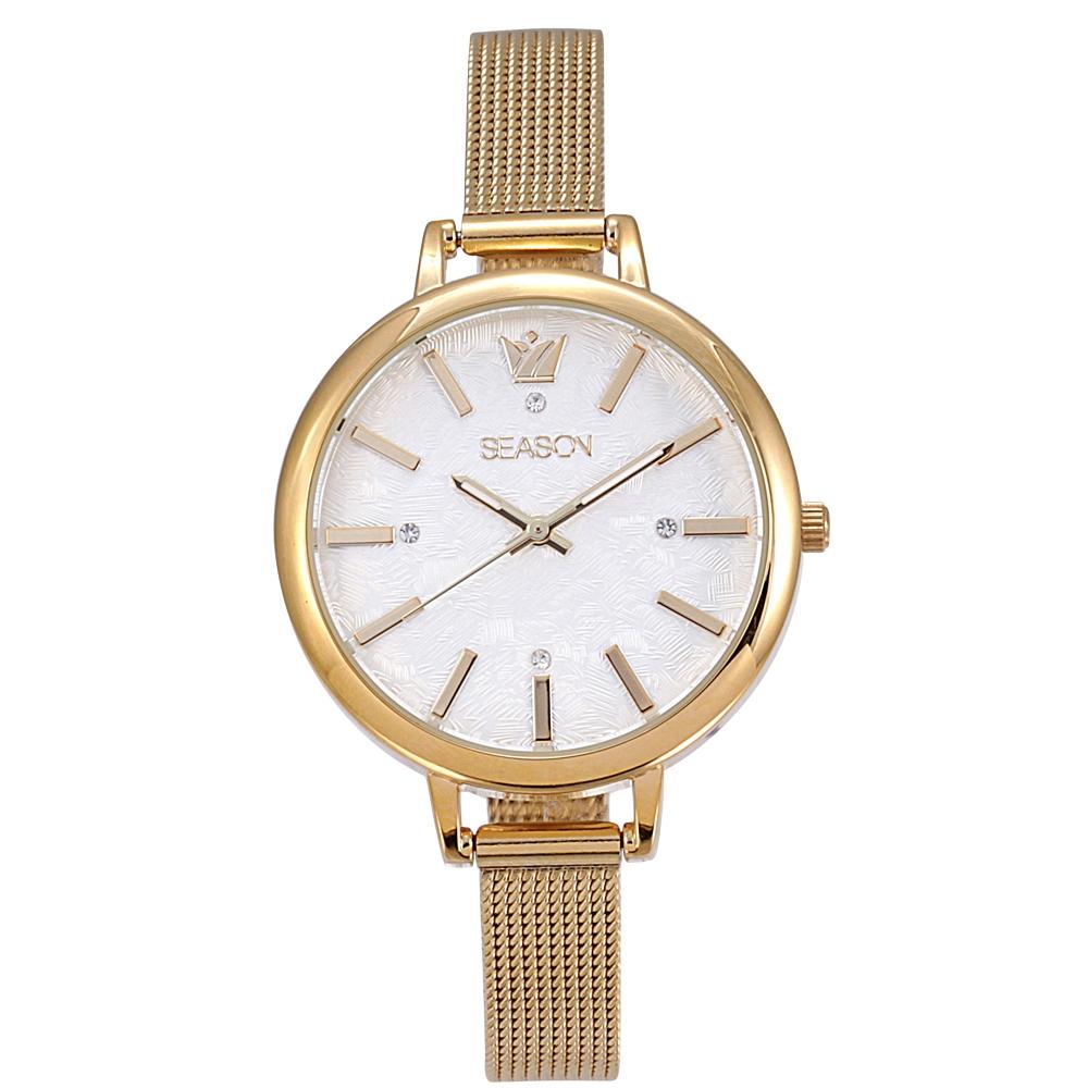 Ρολόι Season 4237-1 Χρυσό Avenue Series