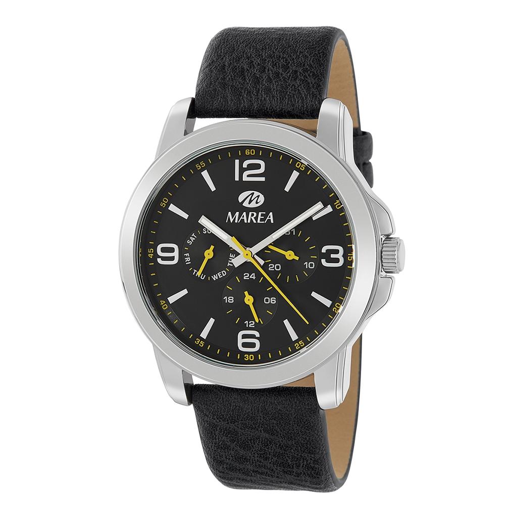 Ρολόι Ανδρικό Marea B41260-1 Μαύρο