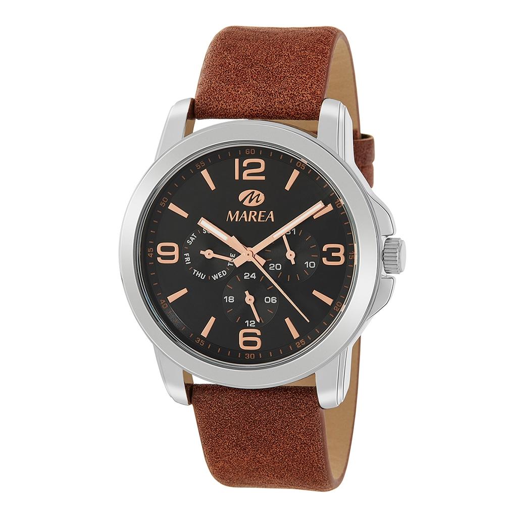 Ρολόι Ανδρικό Marea B41260-5 Καφέ