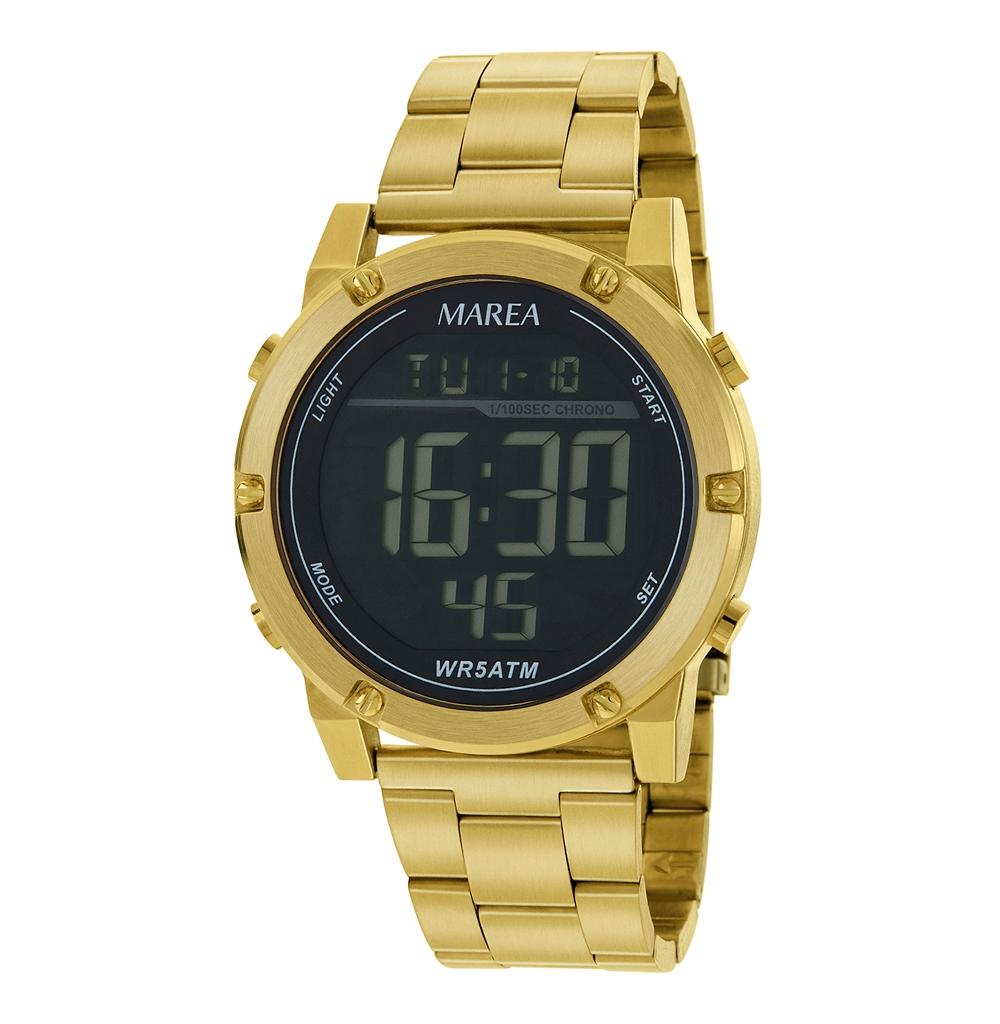 Ρολόι Ανδρικό Marea B35332-4 Χρυσό