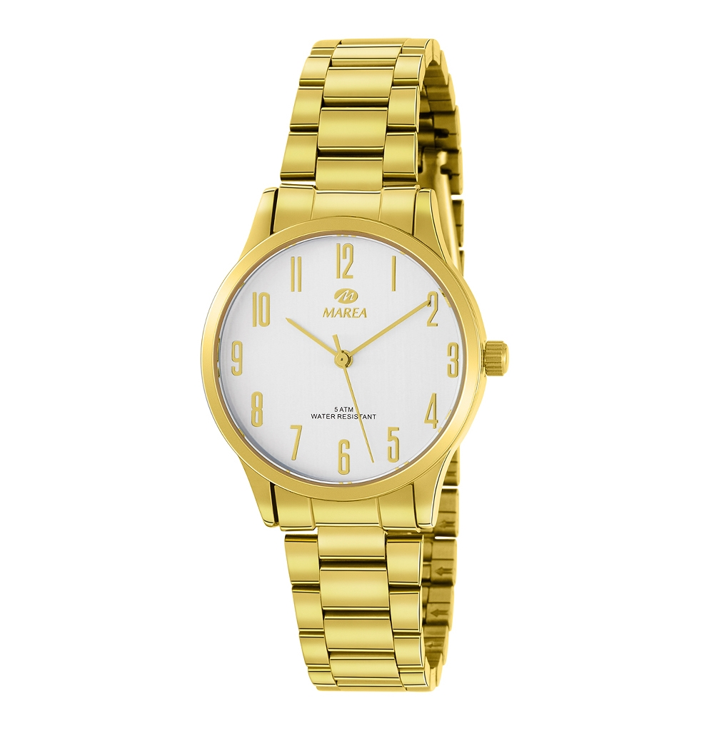 Ρολόι Γυναικείο Marea B41242-9 Χρυσό