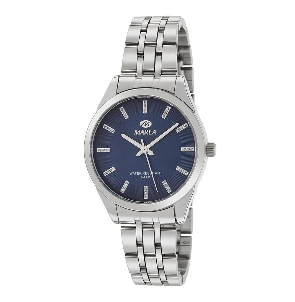 Ρολόι Γυναικείο Marea B41256-5 Μαύρο