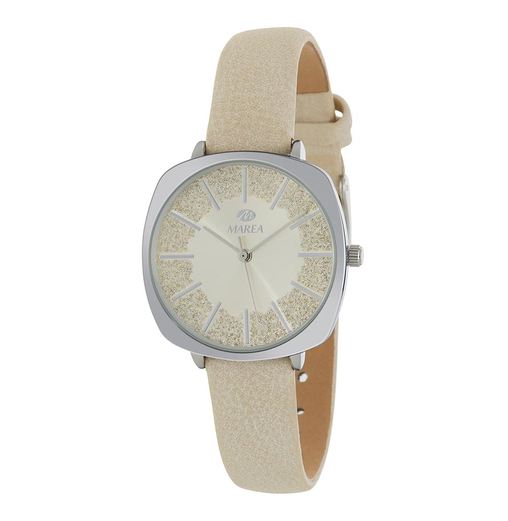 Ρολόι Γυναικείο Marea B41269-1 Λευκό
