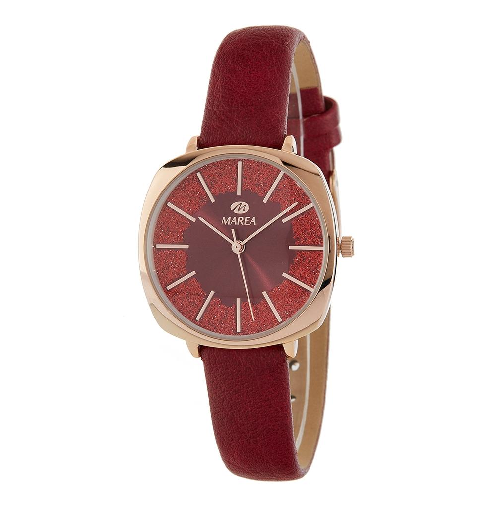 Ρολόι Γυναικείο Marea B41269-6 Κόκκινο