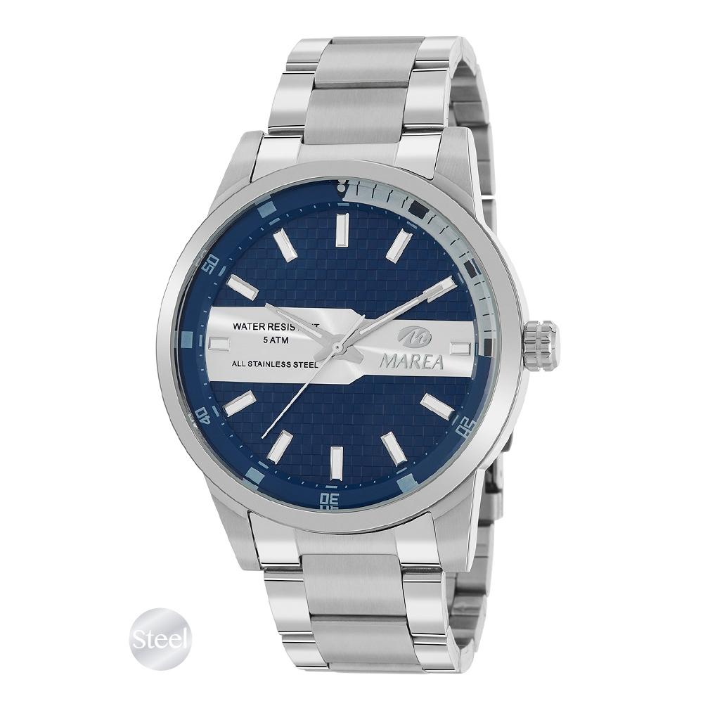 Ρολόι Ανδρικό Marea B54173-4 Μπλε