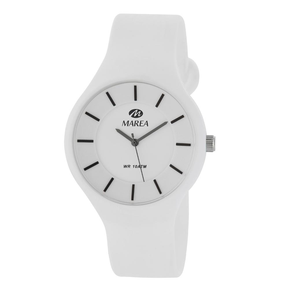 Ρολόι Ανδρικό Marea Colors B35324-2 Λευκό