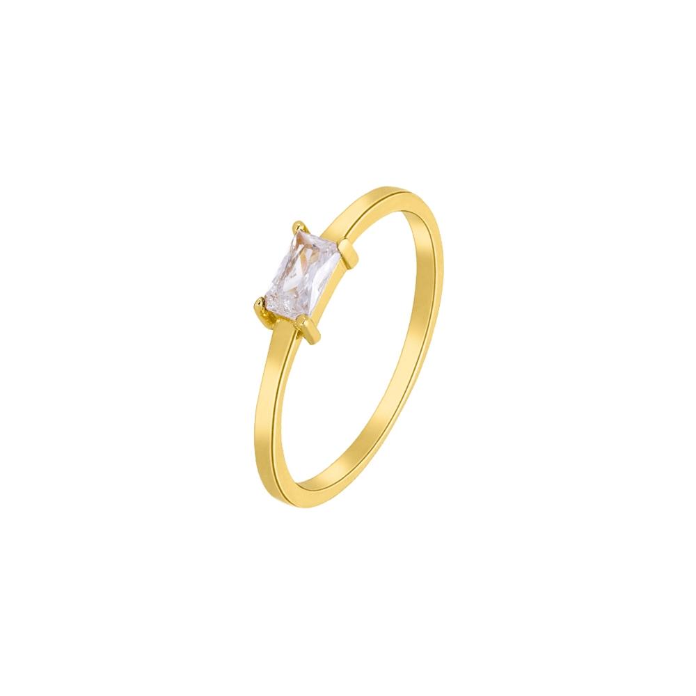 Ασημένιο δαχτυλίδι Marea Gold D02006-AE