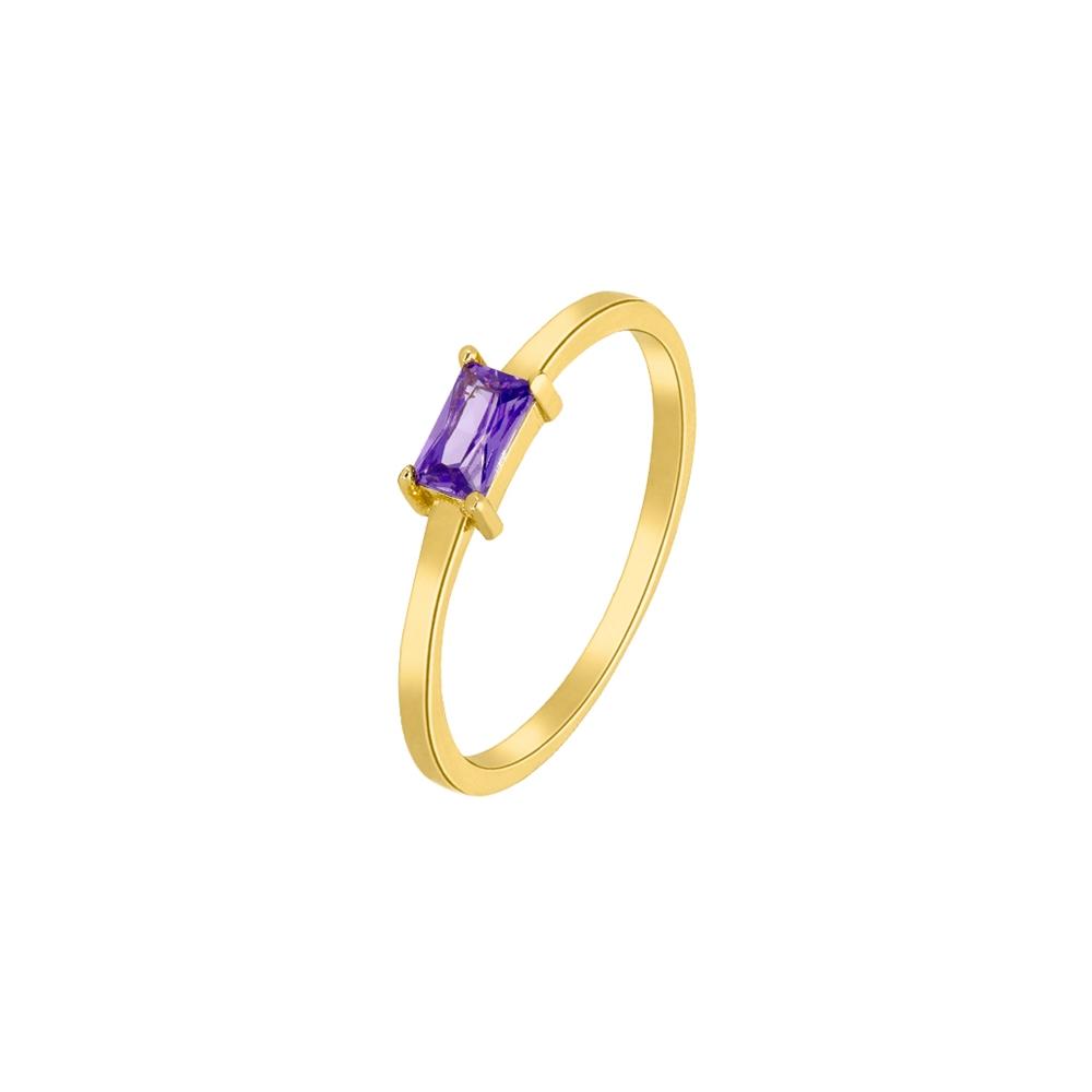 Ασημένιο δαχτυλίδι Marea Gold D02006-AF