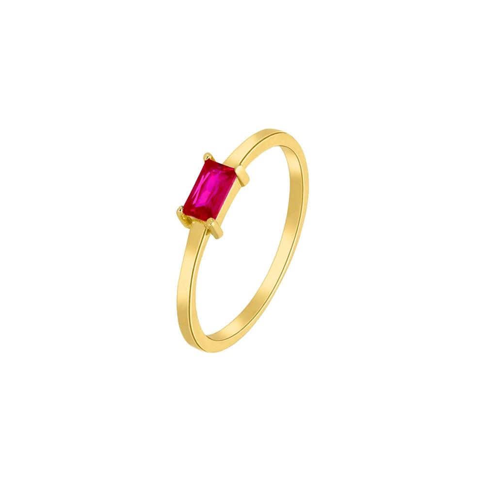 Ασημένιο δαχτυλίδι Marea Gold D02006-AH