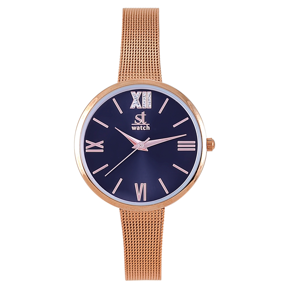 Watch Season ST 2280-4 RG-Blue Rumba Series