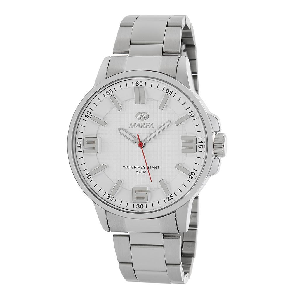 Ρολόι Ανδρικό Marea B41266-1 Ασημί