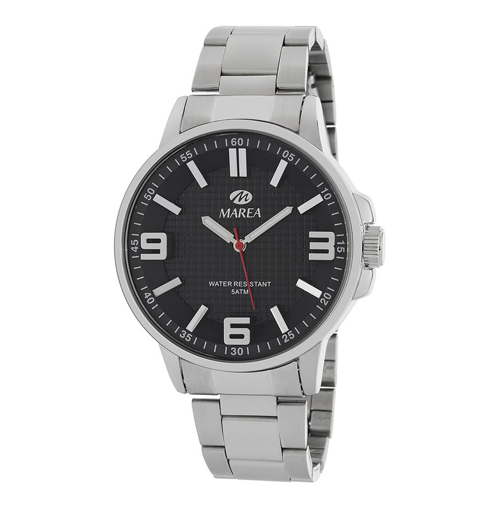Ρολόι Ανδρικό Marea B41266-2 Μαύρο