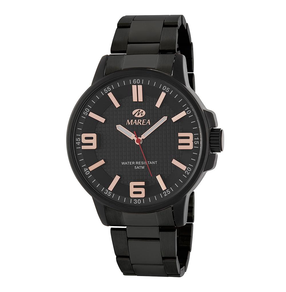 Ρολόι Ανδρικό Marea B41266-4 Μαύρο