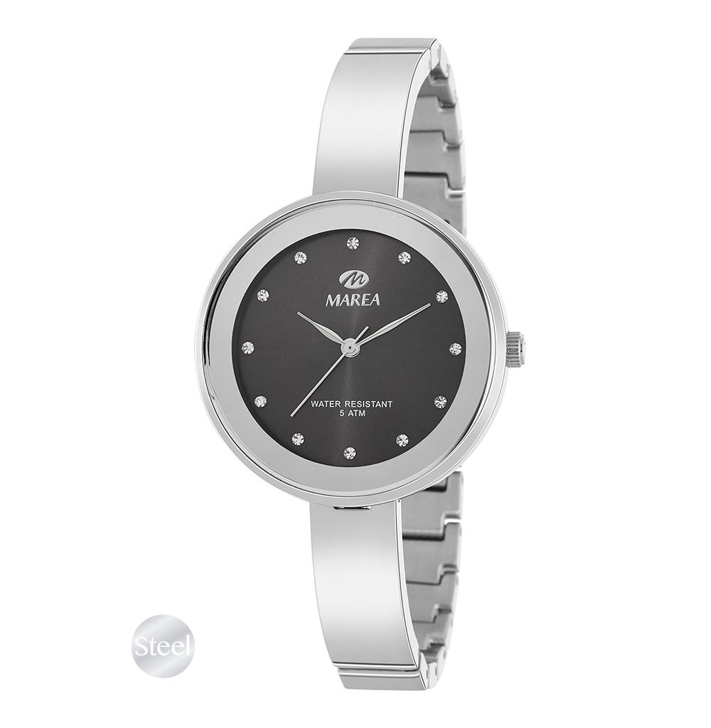 Ρολόι Γυναικείο Marea B54143-3 Ασημί