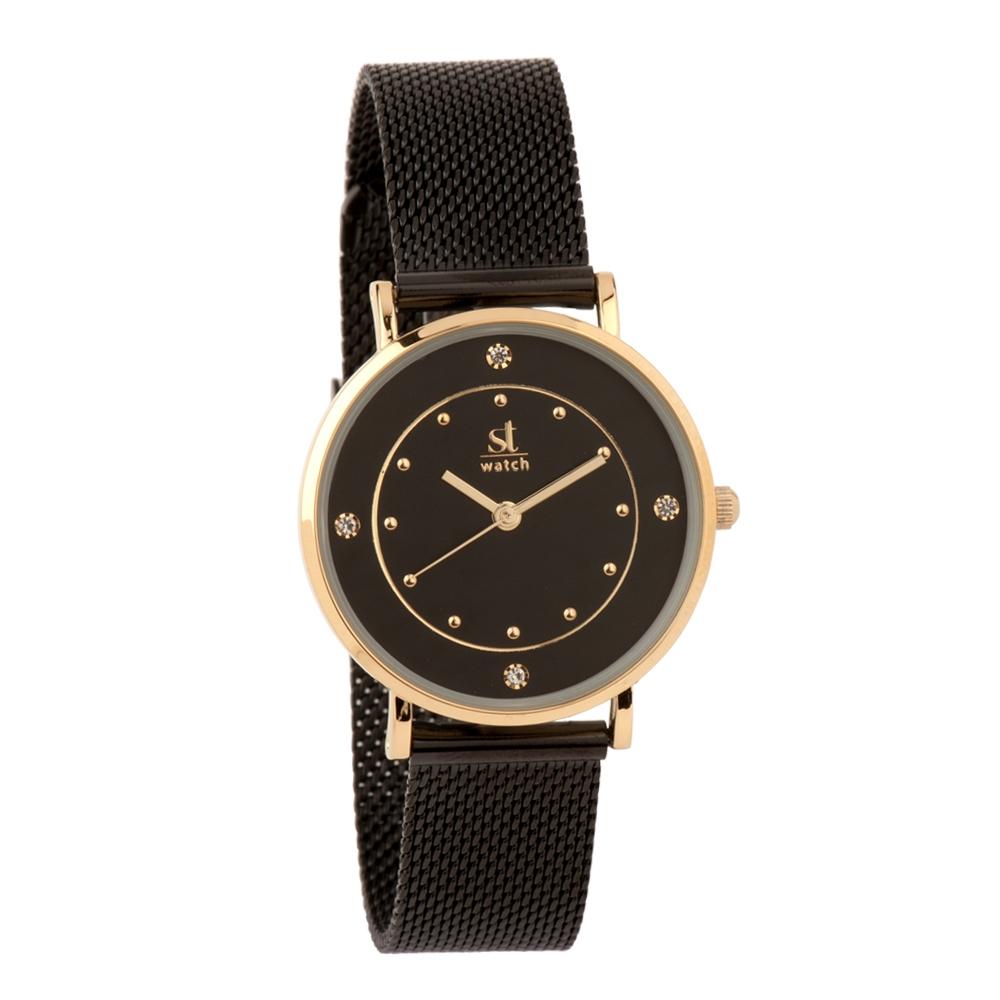 Ρολόι Season ST 9248-1 Μαύρο Cosmopolitan Series
