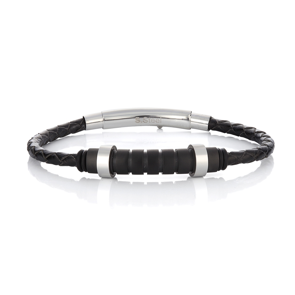 Men bracelet Season 2222-1 Black