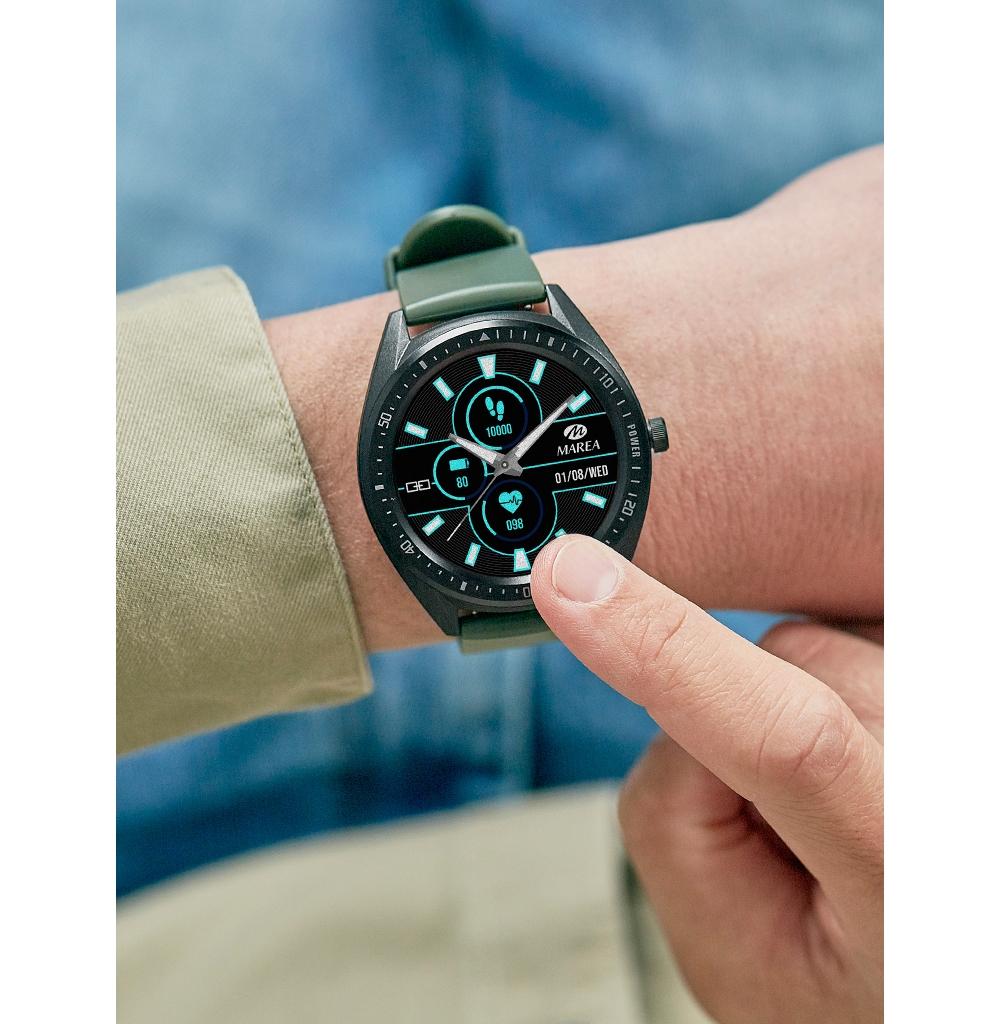 Smart Watch Marea B59003-2 Μπλε