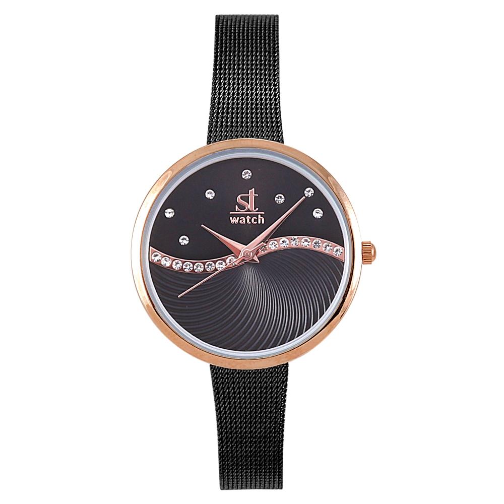Ρολόι Season ST 2276-1 Μαύρο Metropolitan Series