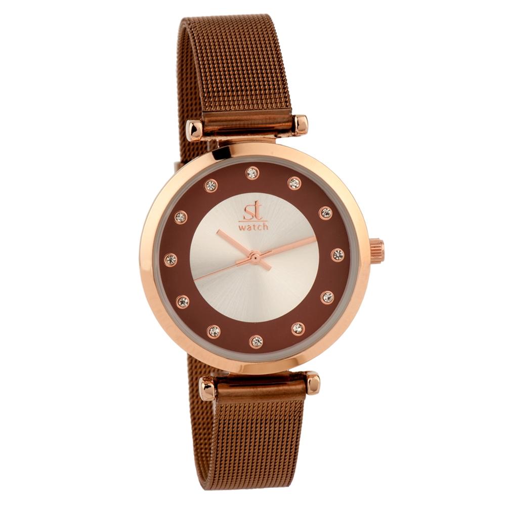 Ρολόι Season ST 2272-2 Καφέ Manhattan Series