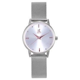 Ρολόι Season ST 2283-6 Ασημί Swing Series