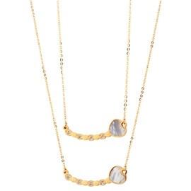 Κολιέ Season Jewels 10-1-11-1 Χρυσό