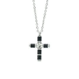 Men necklase Season 22116-2 Black