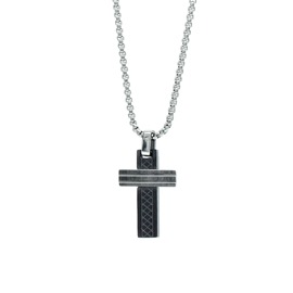 Men necklase Season 2416-1 Black