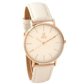 Ρολόι Season ST 9137-2 Άσπρο-RG Stripe Series