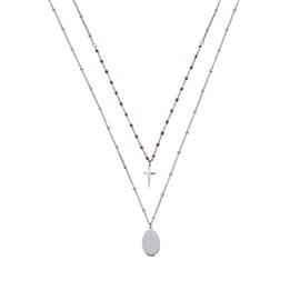 Κολιέ Season Jewels 1616-3 Ασημί