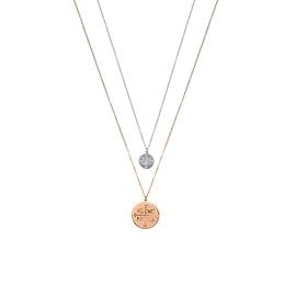 Κολιέ Season Jewels 1617-2 Ροζ Χρυσό