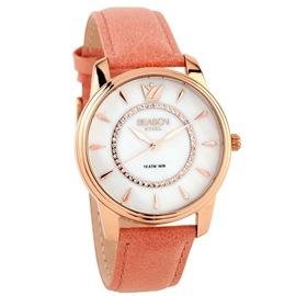 Ατσάλινο ρολόι Season Time 6315-1 Ροζ Pearl Series