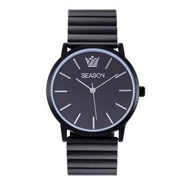 Γυναικείο ρολόι Season 2290-1 Μαύρο