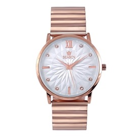 Γυναικείο ρολόι Season 2293-1 Ροζ Χρυσό