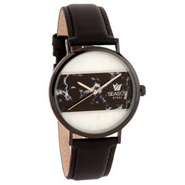 Stainless Steel Watch Season 6317-10 Black Glam Series