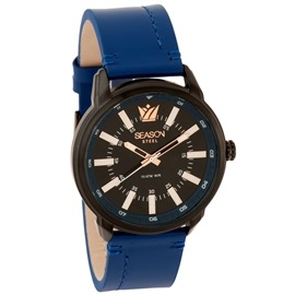 Stainless Steel Watch Season 6322-8 Blue Impressive Series