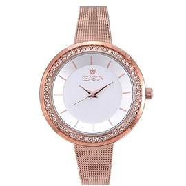 Season watch 4238-3 Rose Gold Broadway Series