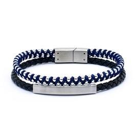 Men bracelet Season 2129 Black